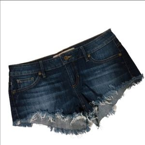 GUESS Los Angeles Jean Shorts Cut Offs Size 27
